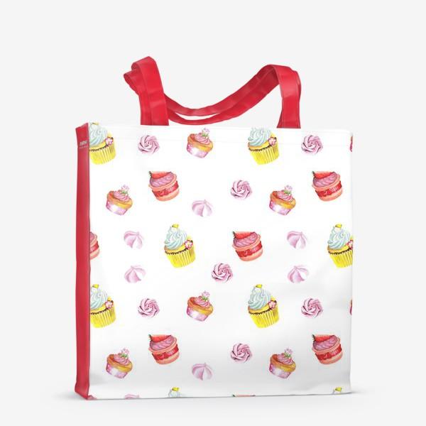 Сумка-шоппер «Funny cupcake»