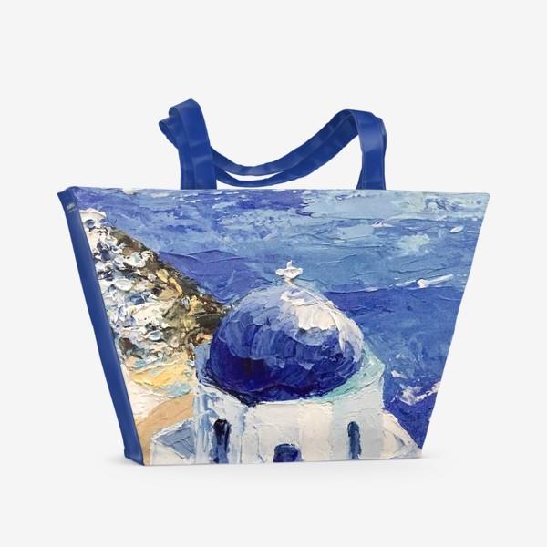 Пляжная сумка «Santorini»