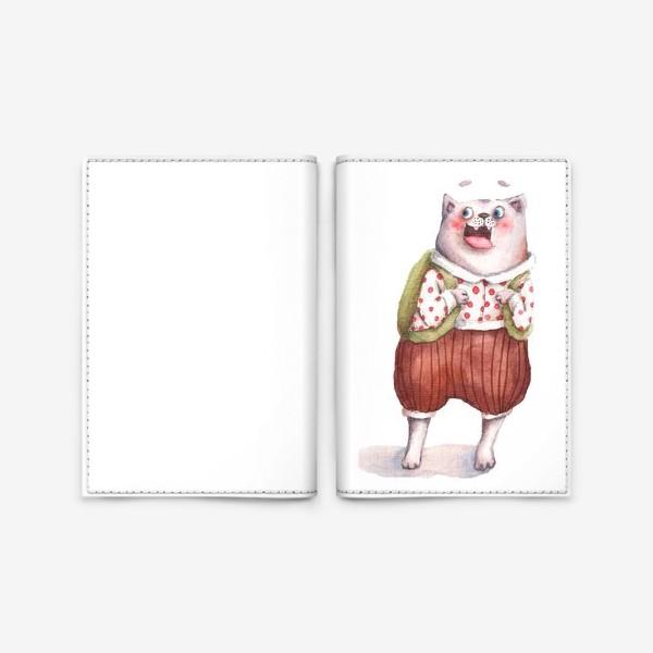 Обложка для паспорта «Ученик»