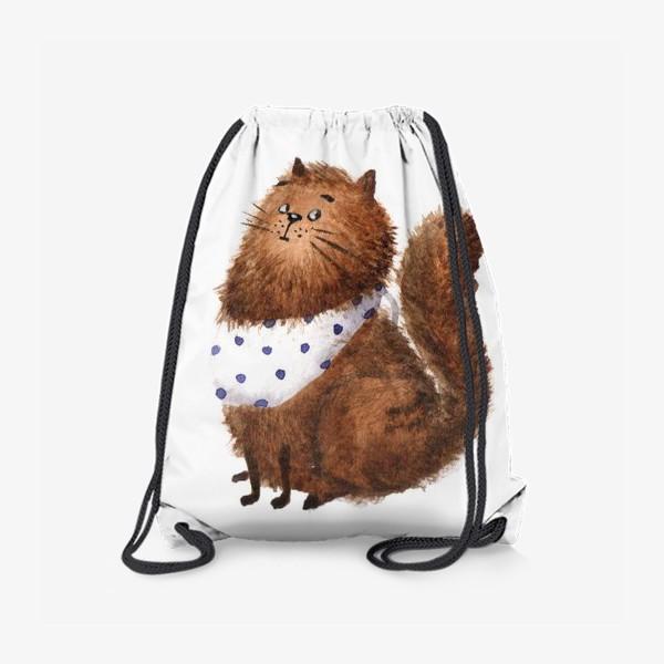 Рюкзак «Удивленный кот»