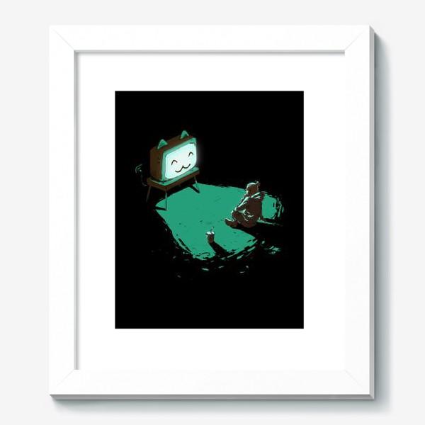 Картина «Кот-телевизор»