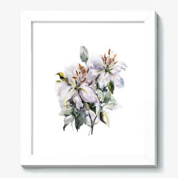 Картина «Букет Лилии»