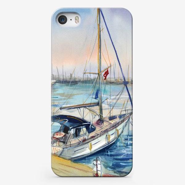 Чехол iPhone «Лодка в Кемере»