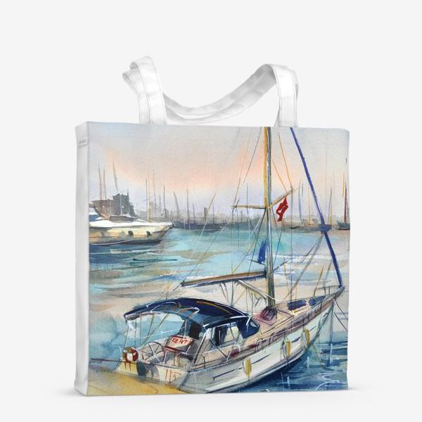 Сумка-шоппер «Лодка в Кемере»