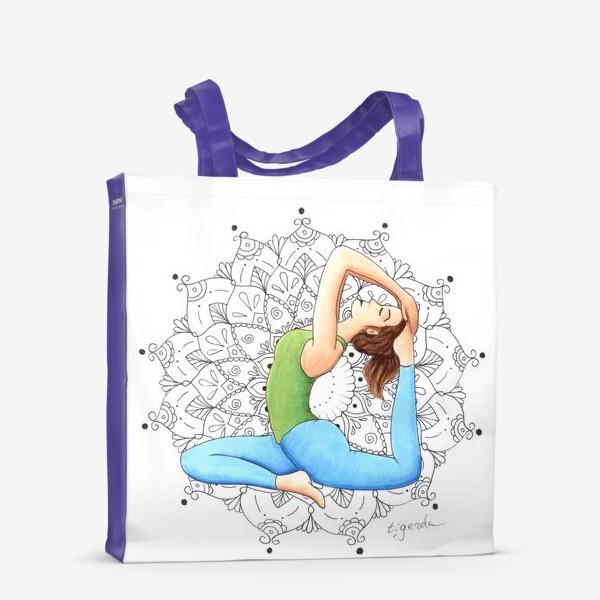 Сумка-шоппер «Йога»