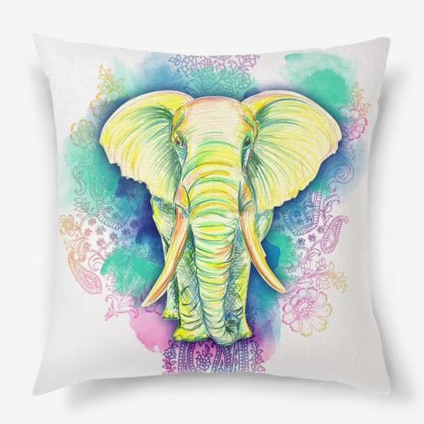 Подушка «indian elephant»