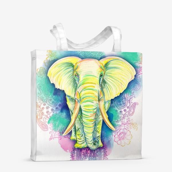 Сумка-шоппер «indian elephant»
