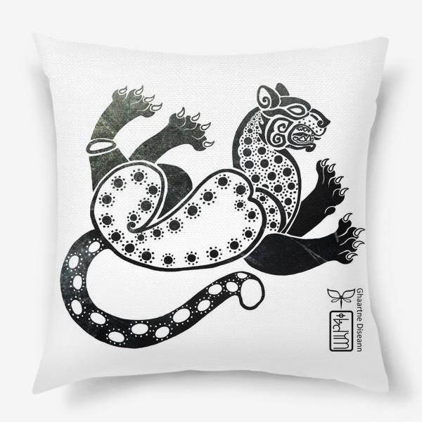 Подушка «Скифский леопард»