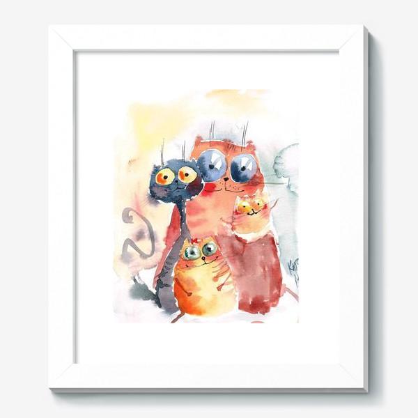 Картина «Коты»