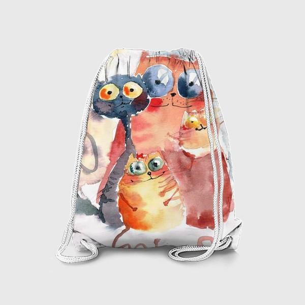 Рюкзак «Коты»