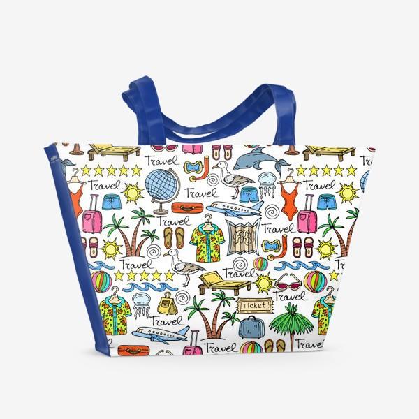 Пляжная сумка «К морю!»