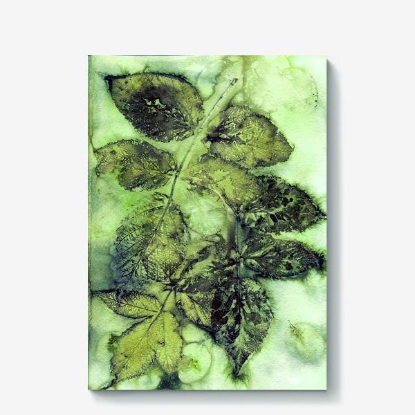 Холст «Листья. Сумерки.»
