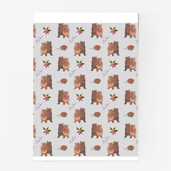 Постер «Мишкины сладости»