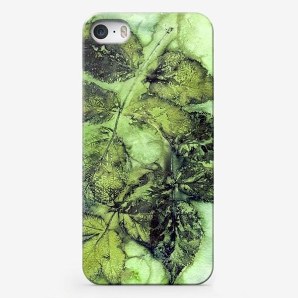 Чехол iPhone «Листья. Сумерки.»