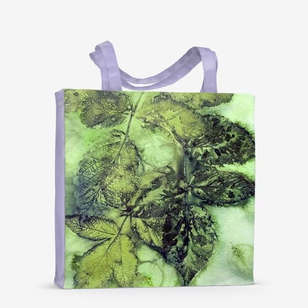 Сумка-шоппер «Листья. Сумерки.»