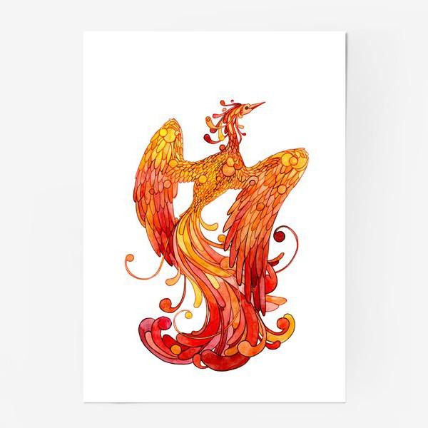 Постер жар птица