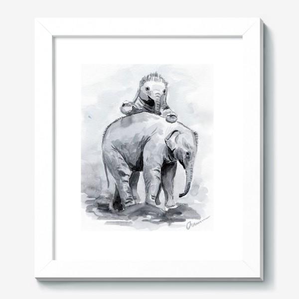 Картина «Слонята»