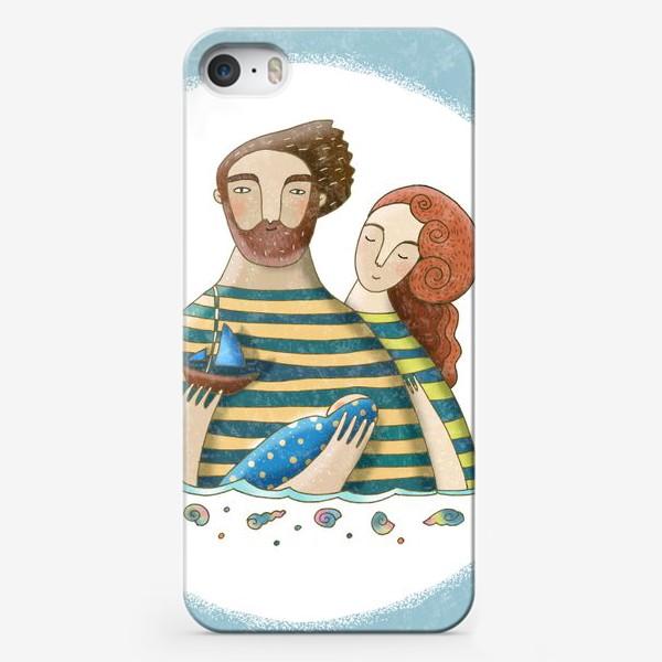 Чехол iPhone «Морская колыбельная»