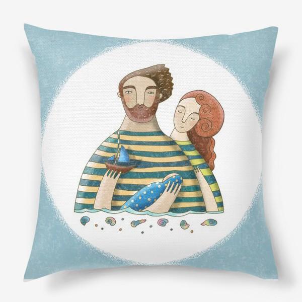 Подушка «Морская колыбельная»