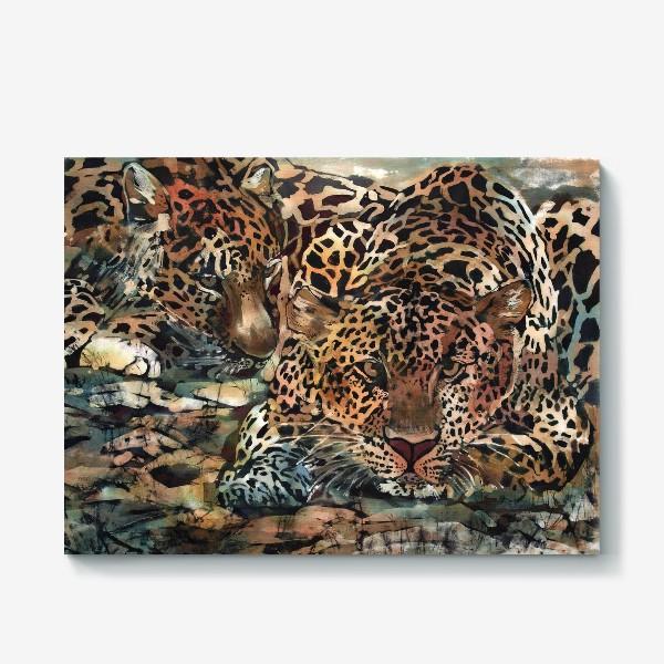 Холст «Гепарды»