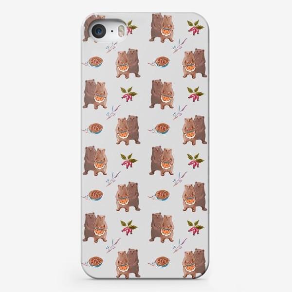 Чехол iPhone «Мишкины сладости»