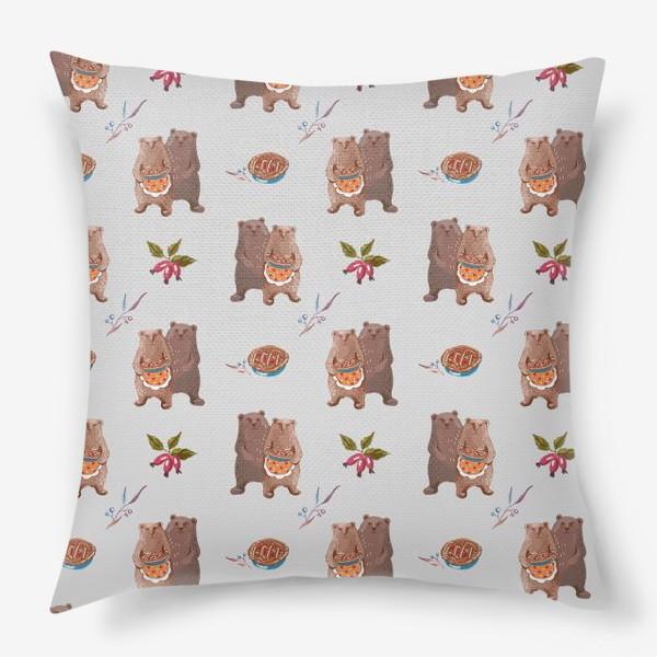 Подушка «Мишкины сладости»