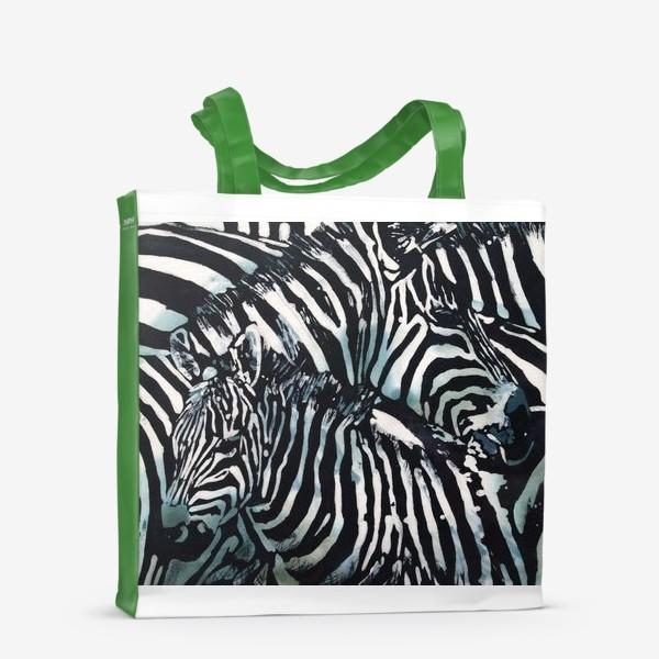 Сумка-шоппер «Зебры»