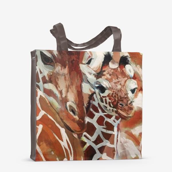 Сумка-шоппер «Жирафы»