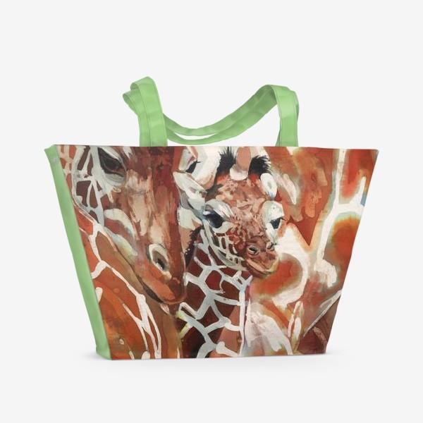 Пляжная сумка «Жирафы»