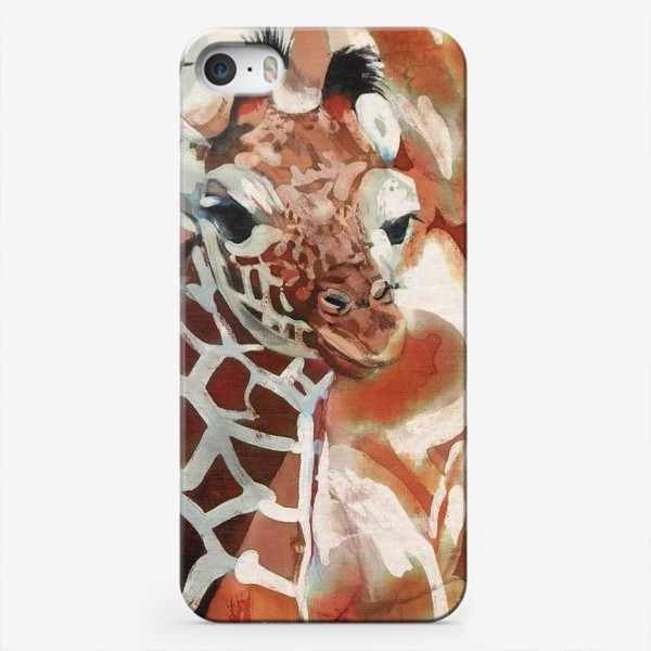 Чехол iPhone «Жирафы»