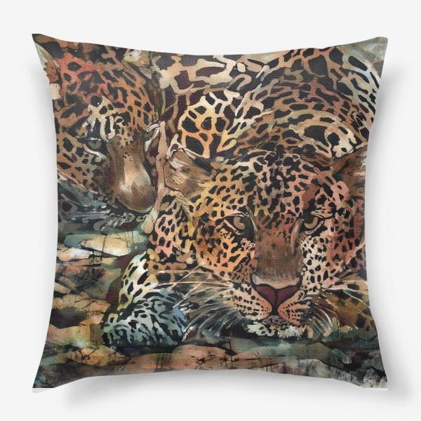 Подушка «Гепарды»