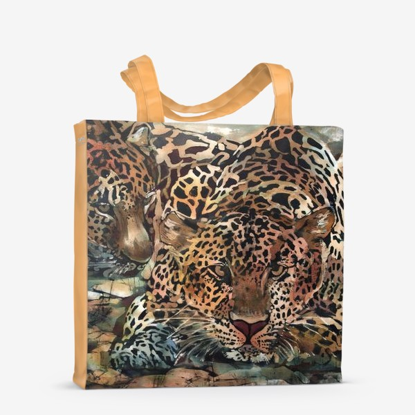 Сумка-шоппер «Гепарды»
