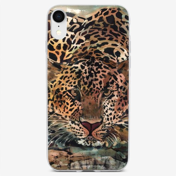 Чехол iPhone «Гепарды»