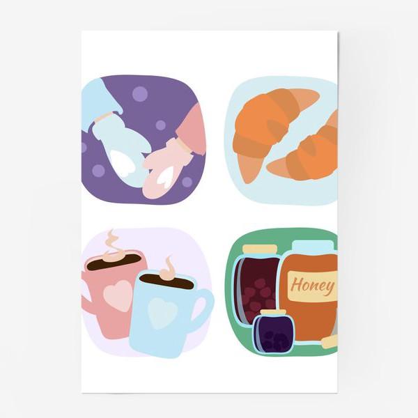 Постер «Зимние радости»