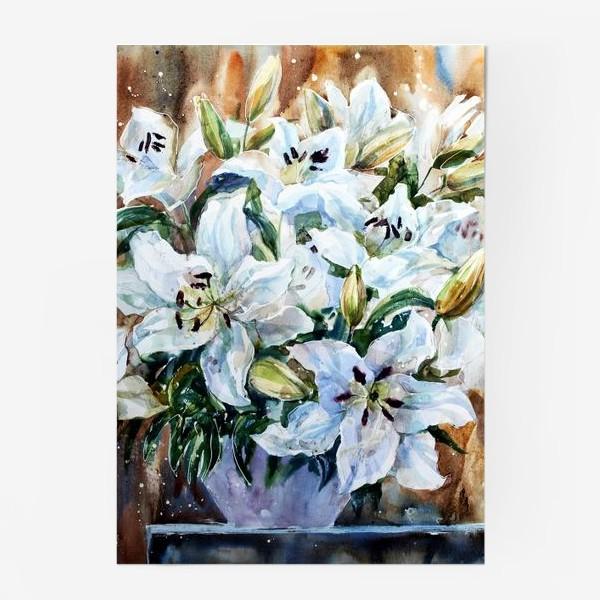 Постер «Белые лилии»