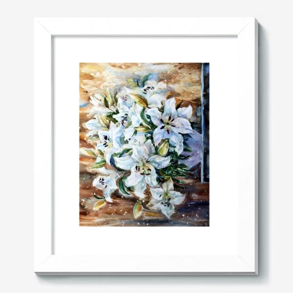 Картина «Белые лилии»
