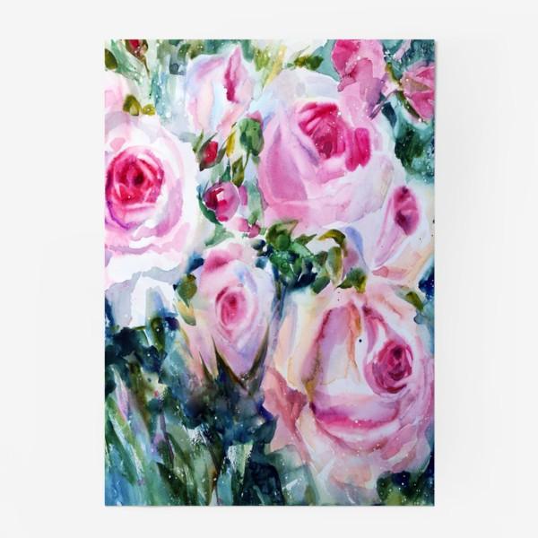Постер «Розовые розы»
