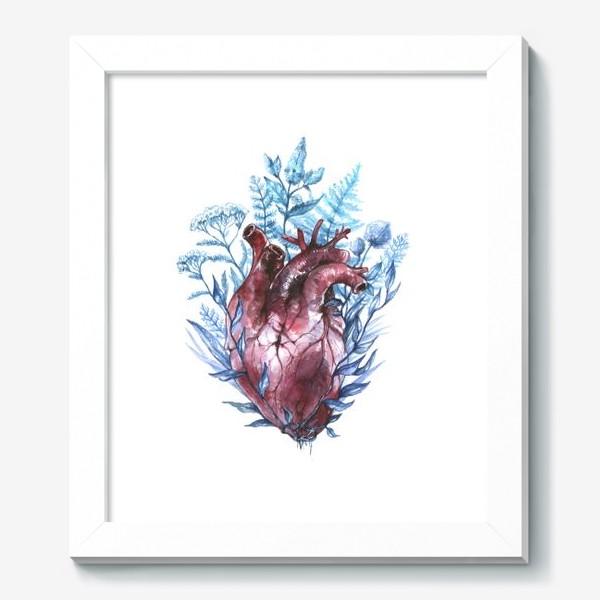 Картина «Сердце и травы»