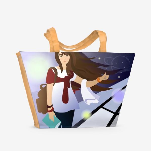 Пляжная сумка «Автостопом по Галактике»