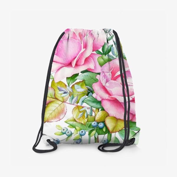 Рюкзак «Розовый букет»