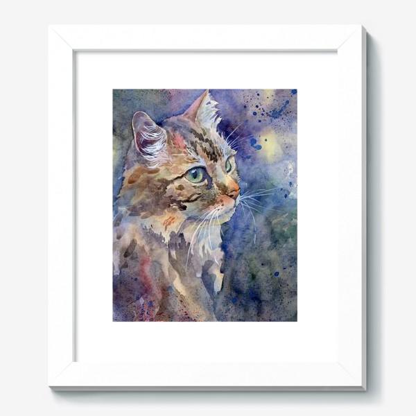 Картина «Рыжая кошка»