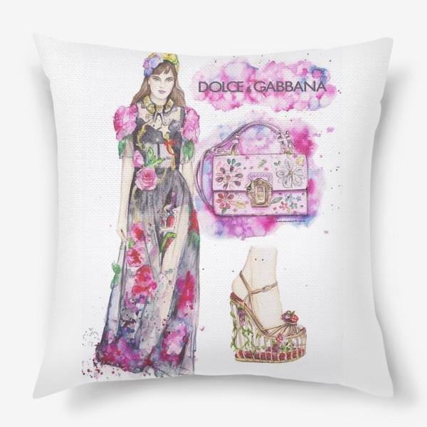 Подушка «Pink Dolce»