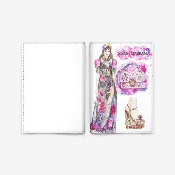 Обложка для паспорта «Pink Dolce»