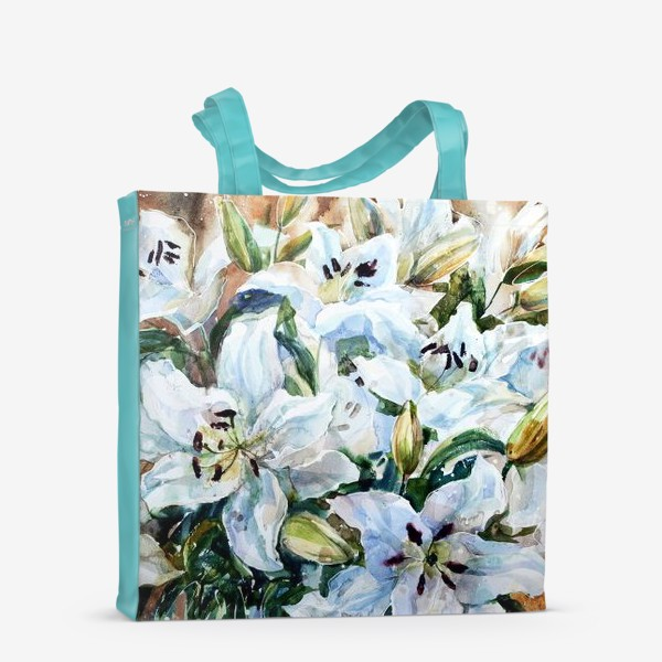 Сумка-шоппер «Белые лилии»