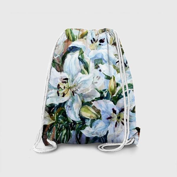 Рюкзак «Белые лилии»