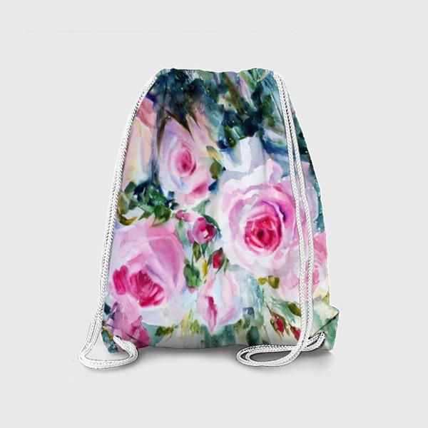 Рюкзак «Розовые розы»