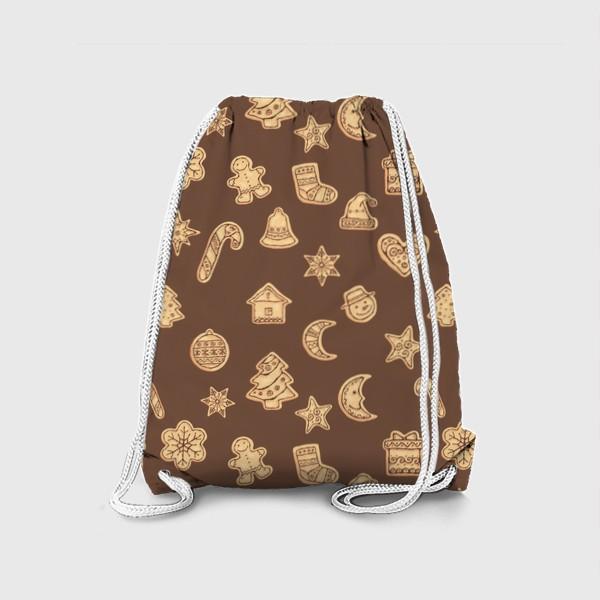 Рюкзак «Новогодние печеньки»