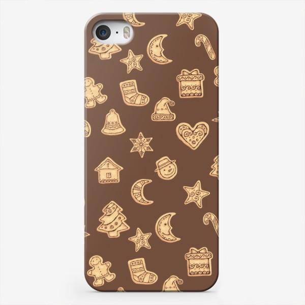 Чехол iPhone «Новогодние печеньки»