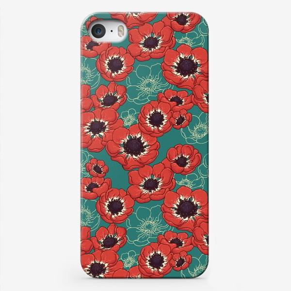 Чехол iPhone «Маковый цвет»