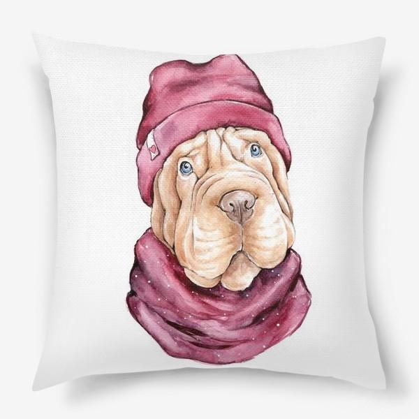 Подушка «Милый Шарпей»